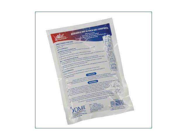 Mabis 614-0060-9824 Small Reusable Gel Compress - Case of 24