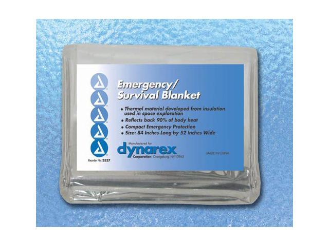 Complete Medical 8902 Emergency-Survival Rescue Blanket with 56 X 84 Foil
