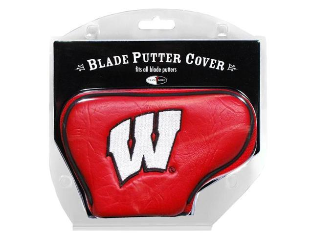 Team Golf 23901 Wisconsin Badgers Blade Putter Cover