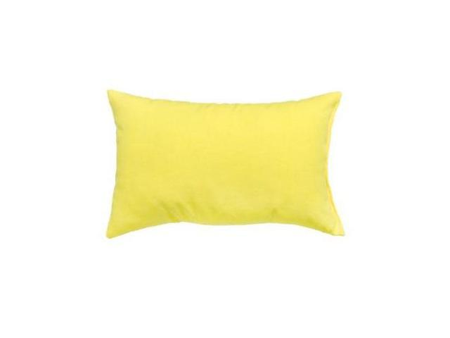 Greendale Home Fashions OC5811S2-SUNBEAM Rectangle Outdoor Accent Pillows, Set of Two, Sunbeam