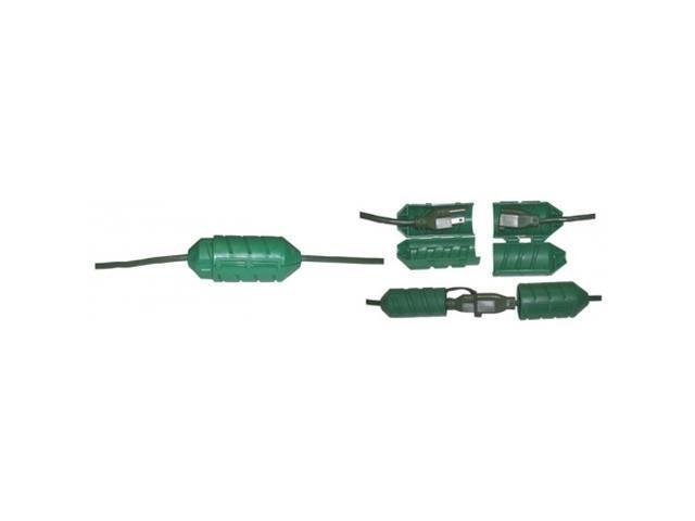 Cord Connect - Waterproof Extension Cord Connector Green
