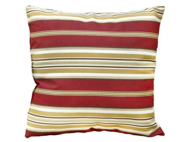 Greendale Home Fashions OC4803S2-ROMASTRIPE Outdoor Accent Pillows, Set of Two, Roma Stripe