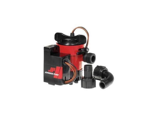 Johnson Pump 05503-00 Johnson Pump 500GPH Auto Bilge Pump 3-4 .in 12V Mag Switch