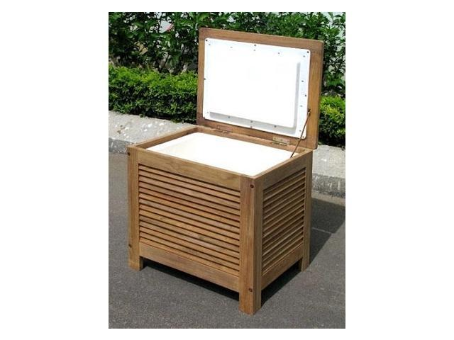 Merry Products MPG-PC01 Wooden Patio Cooler with Double Wall Plastic Cooler Insert