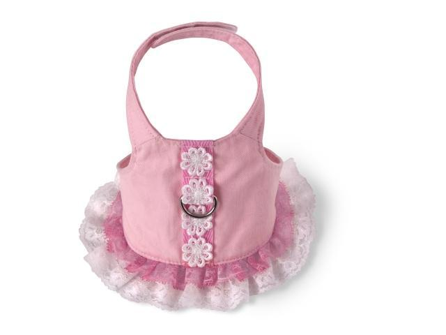 Doggles HADSXS02 XS Harness Dress - Pink
