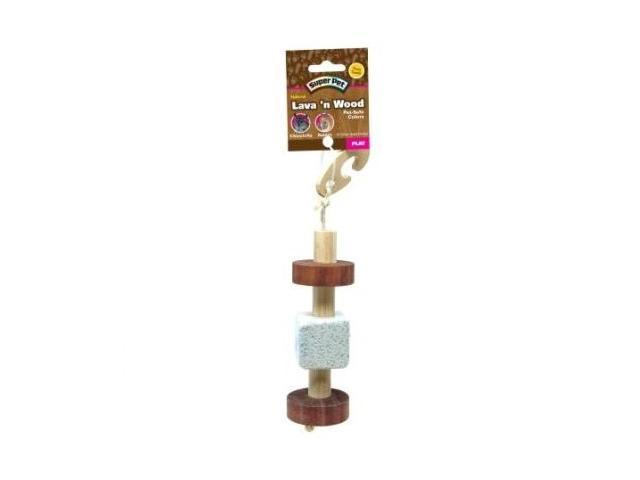 Super Pet Natural Pumice & Wood Hanging Toy - 100505830