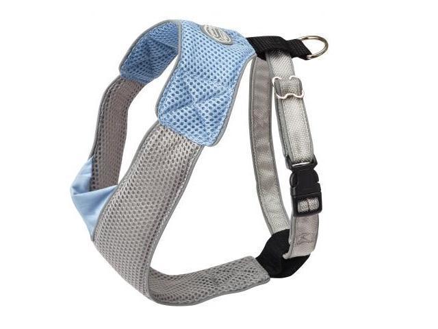 Doggles HAOMXS04 XS V Mesh Harness - Blue-Gray