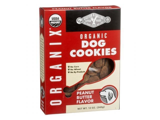 Castor & Pollux 63772 Dog Cookie Organic Peanut Butter
