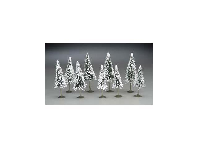 Bachmann BAC32102 N 3 in.- 4 in. Pine Trees with Snow - 9