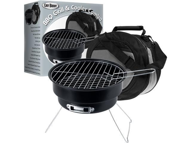 Chef BuddyT Portable Grill & Cooler Combo