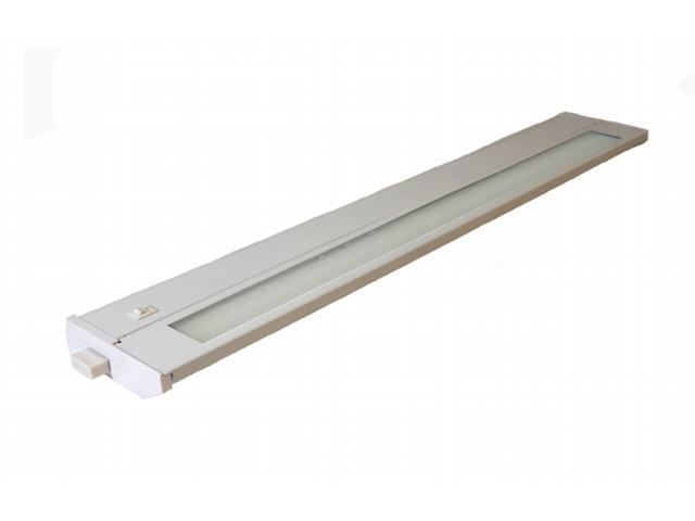 American Lighting 043T-22-WH 28 in. Hardwired Fluorescent Under Cabinet Lighting - White