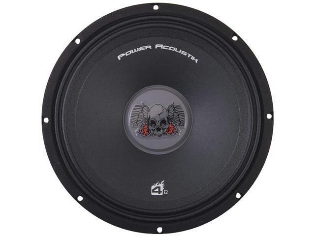 POWER ACOUSTIK PRO.804 PRO MID RANGE SPEAKERS - 8 in. - 200W- 4_ -