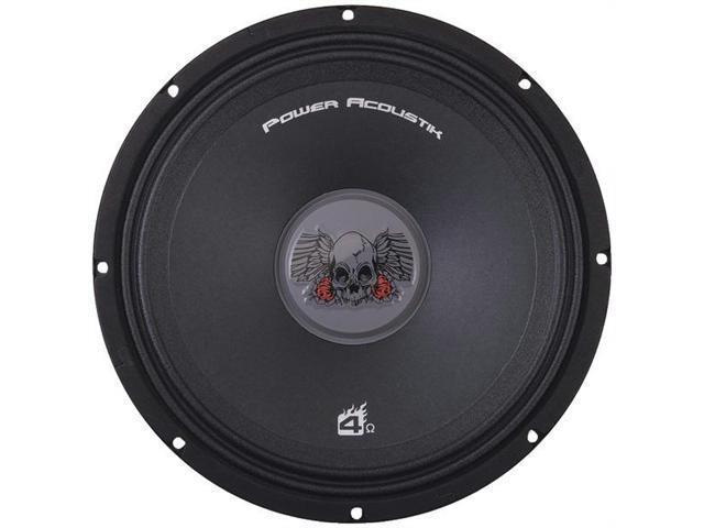 "Power Acoustik PRO.808 8"" 200 Watts Peak Power Audio Speaker with Custom Protective Grille"