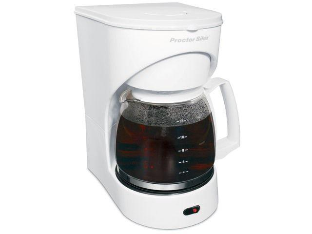 Hamilton Beach 43501 Coffee-Blp Switch-12 C- White