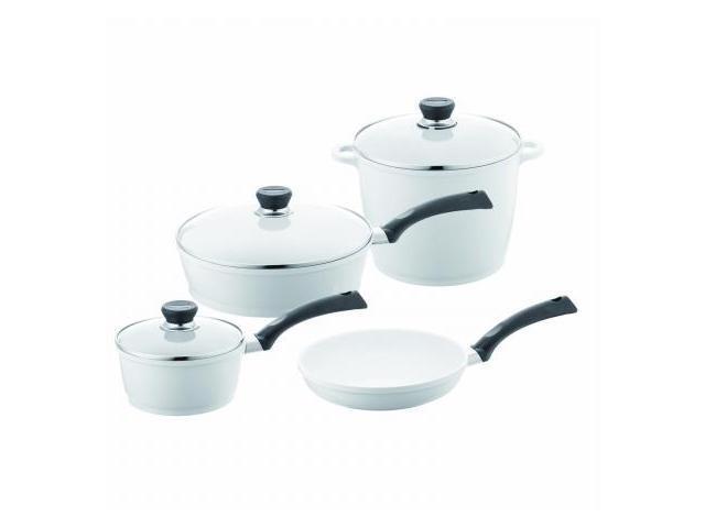 Berndes 697600 SignoCast Pearl Ceramic Coated Cast Aluminum 7 Piece Cookware Set