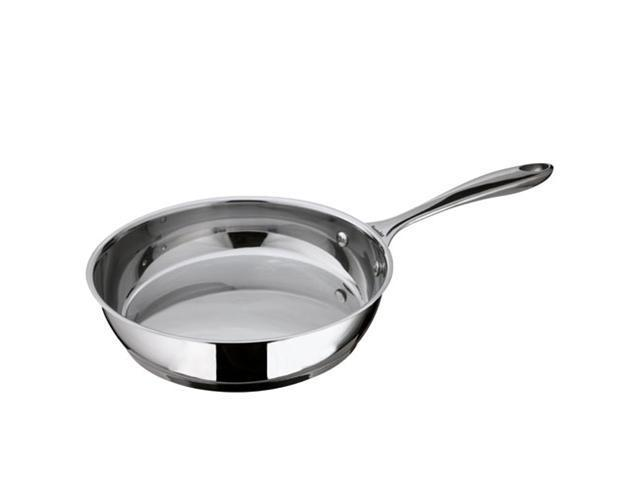 Berndes 063669 11 in. Cucinare Induction Stainless Steel Skillet