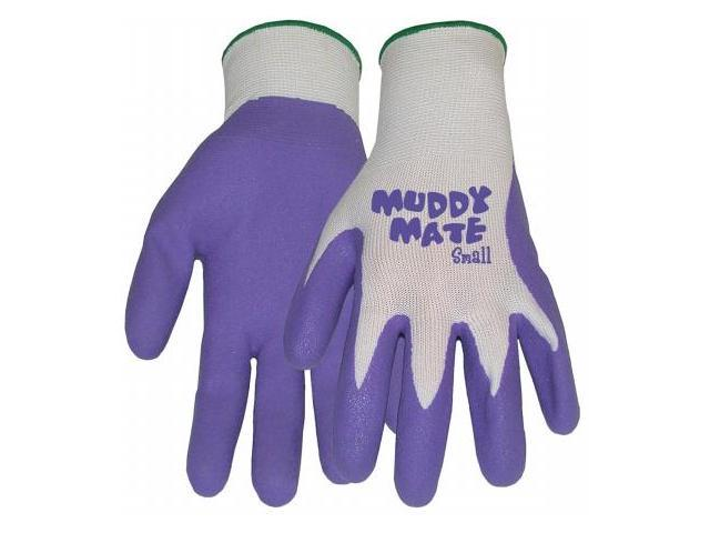 Boss Gloves Small Vibrant Violet Muddy Mate Premium Gloves 9403VS