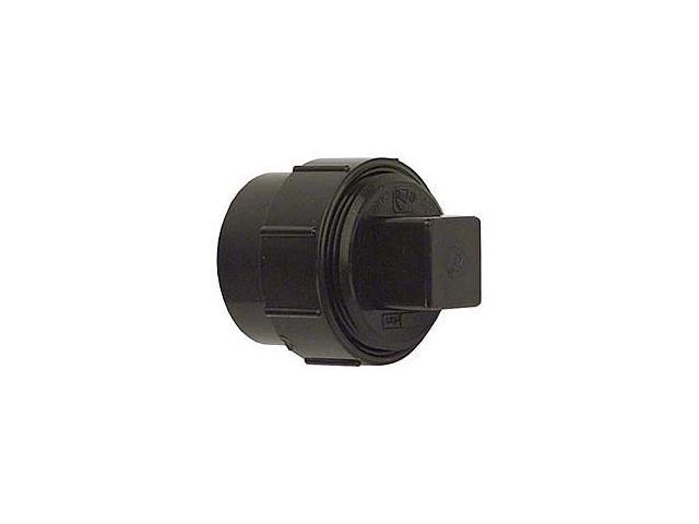 Genova Products 1-.50 in. ABS-DWV Fitting Clean-Outs With Threaded Plug  81615