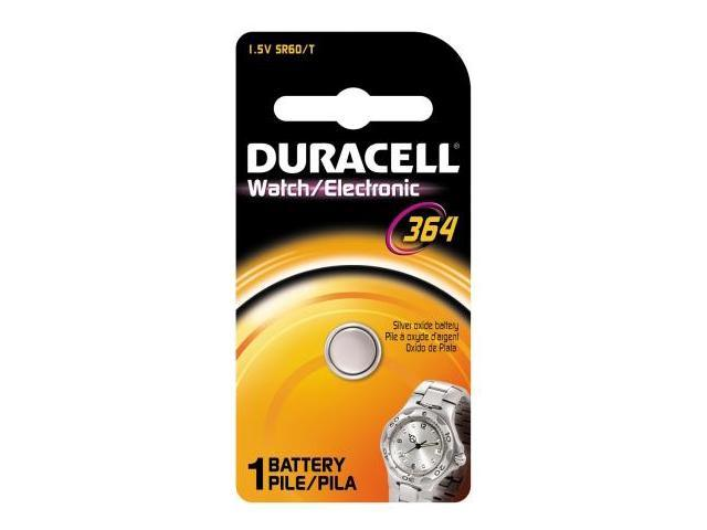 Duracell Usa 1.5 Volt Silver Oxide Duracell 364 Watch & Electronics Battery D36