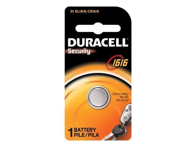 Duracell Usa 3 Volt Lithium Duracell Security 1616 Battery  DL1616BPK
