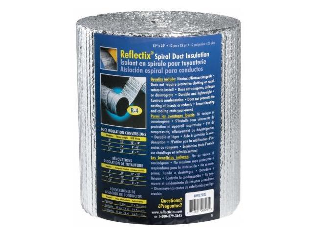 Reflectix Spiral Duct Wrap  DW1202504
