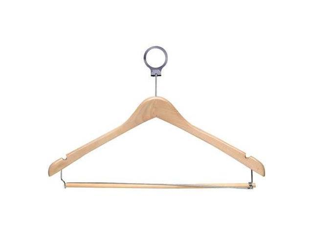 HONEY-CAN-DO HNG-01735 Security Hangers,Maple,PK24 G0189804