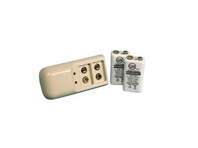 ProMed Specialties ProM-082 ESA 9V Battery Charger Kit with 2 Rechargeable Batteries for TENS