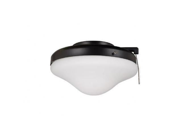 Craftmade International ELK113-1MBK-W All Weather Dome Light Kit - Matte Black