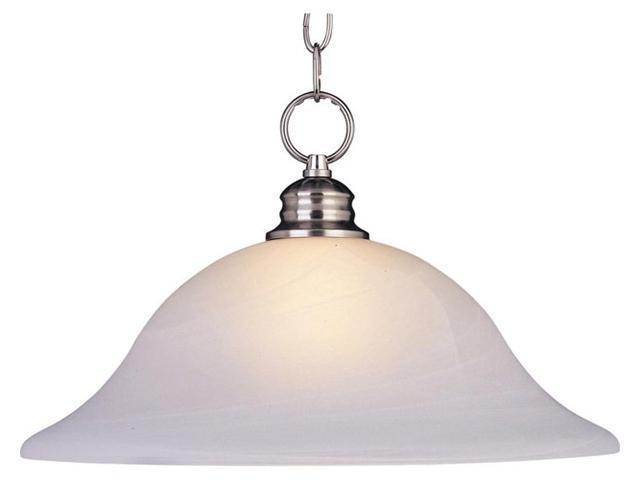 Maxim Lighting 91076MRSN Maxim 1-Light Pendant - Satin Nickel
