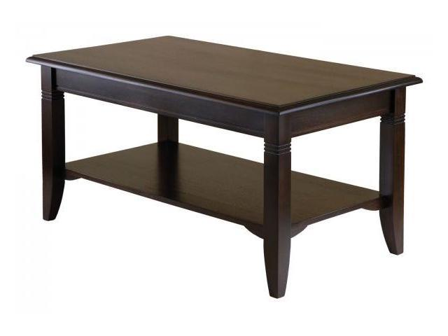 Winsome 40237 Nolan Coffee Table - Cappuccino