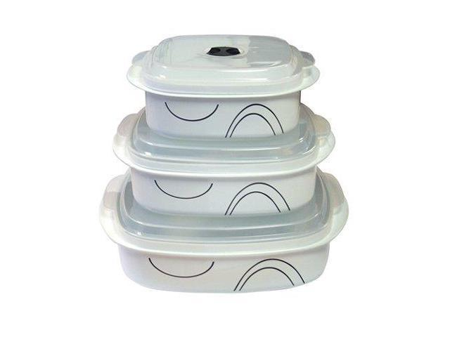 Reston Lloyd 20237 Simple Lines - Microwave Cookware Set