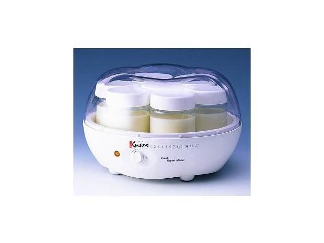 Euro cuisine ym80 yogurt maker with 9 5 diameter for Cuisine yogurt maker recipe