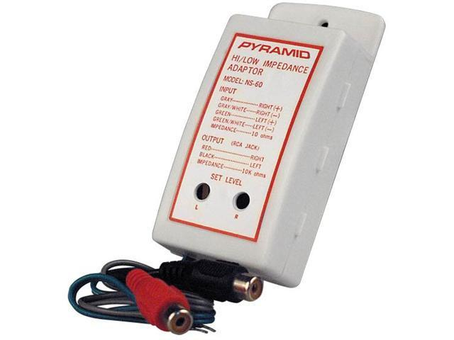 Pyramid NS60 High to Low Level Impedance Adaptor