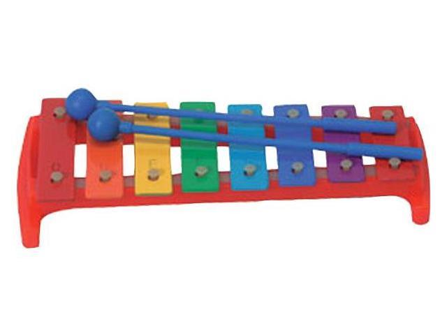Rhythm Band Instruments RB2304 8 Note Glockenspiel with 2 Mallets