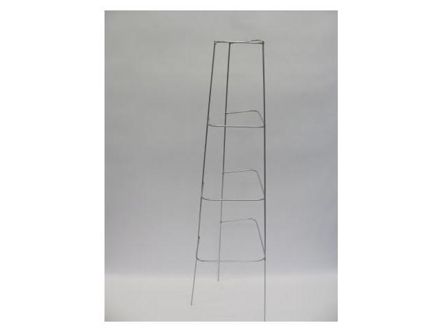 Glamos Wire 760469 46 in. Diamond Cage Plant Support - Galvanized - Pack of 10