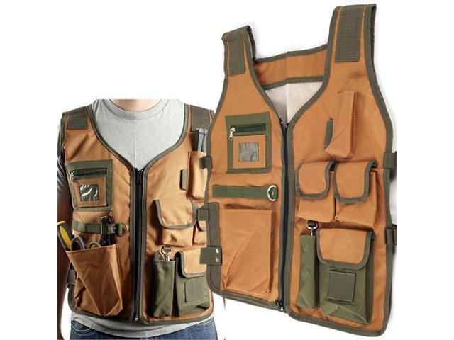 Happy Camper Nylon 7 Pocket Vest with 4 Adjustable Straps