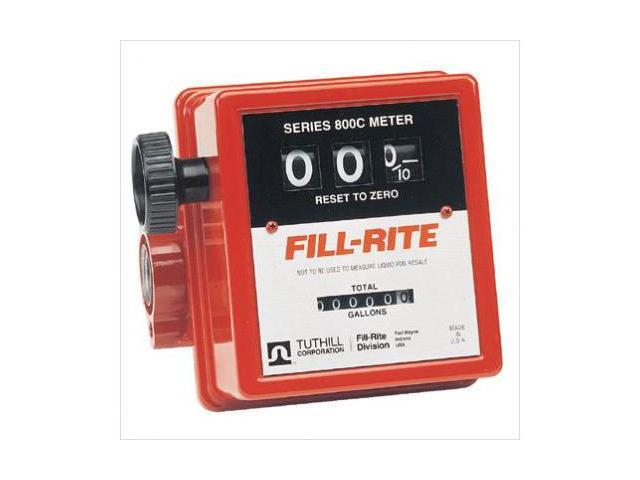 Fill-Rite 285-807C-1 1 Inch In-Line Flow Meter20Gpm Serie