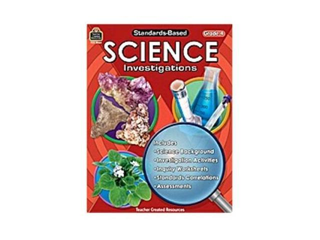 Teacher Created Resources Tcr8964 Std-Based Science Investigation Gr4