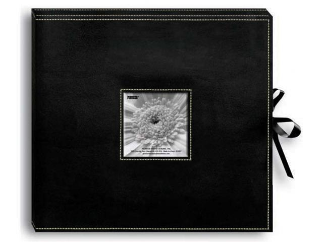 Pioneer SBX-12BK Sewn Leatherette D-Ring Scrapbook Box 13