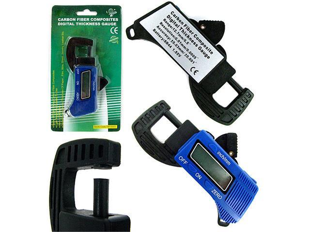 Digital Thickness Gauge Micrometers Calipers - Carbon Fiber