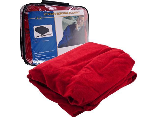 Trademark Poker TrademarkT Electric Blanket for Automobile - 12 volt - Red