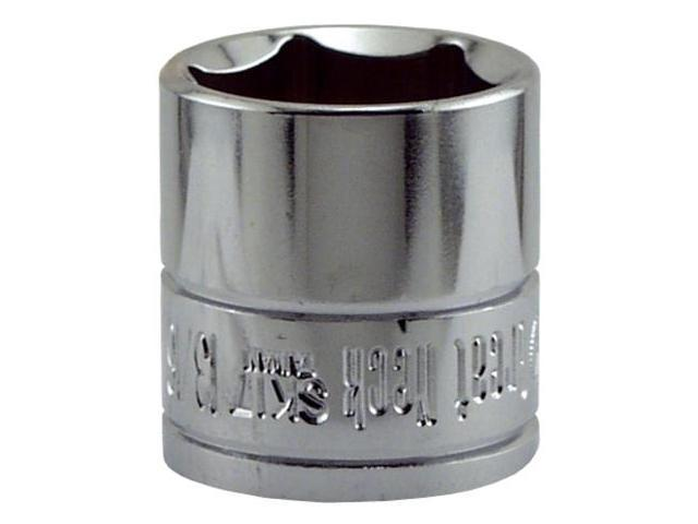 Great Neck Saw 1.19in. X .38in. Drive 6 Point Socket Standard SK17