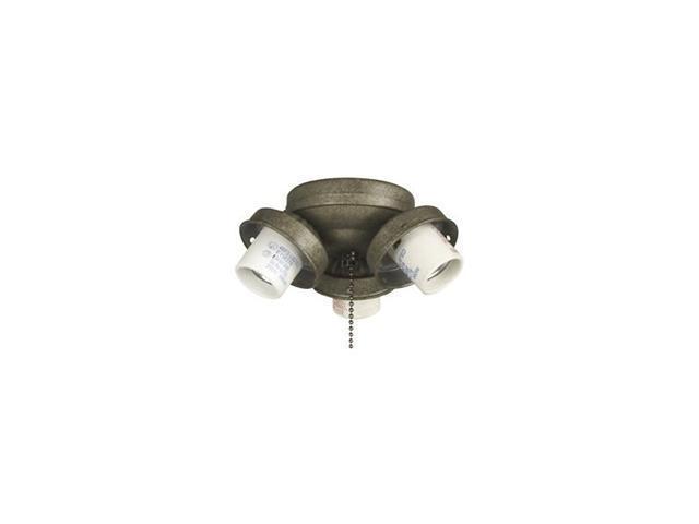 Craftmade International EUC32GV Three Light Fitter - Galvanized