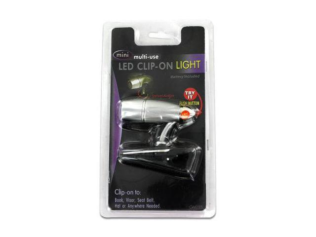 Miniature LED clip-on light - Pack of 24