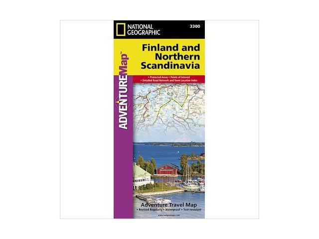 National Geographic Maps AD00003300 Finland and Northern Scandinavia Adventure Map