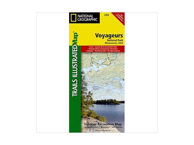 National Geographic Maps TI00000264 Voyageurs National Park Map
