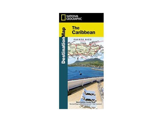 National Geographic Maps DM01020631 Caribbean Destination Map