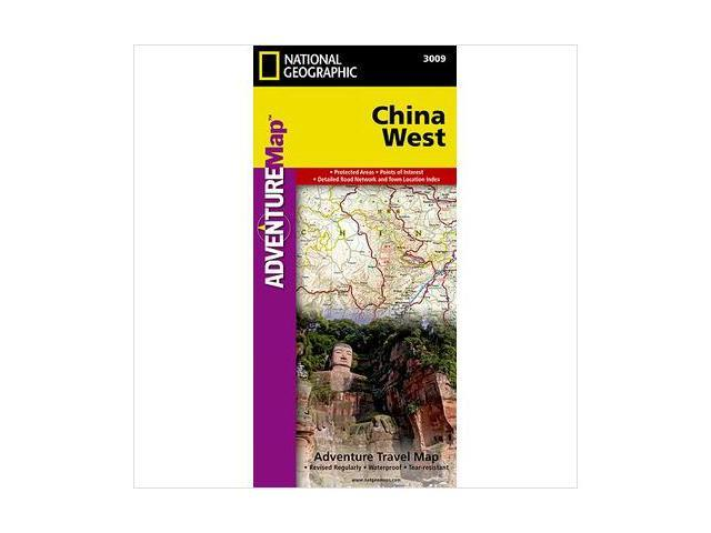 National Geographic Maps AD00003009 China West Adventure Map