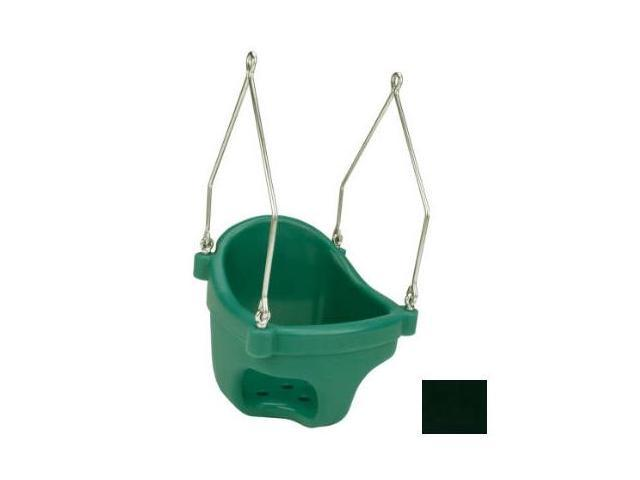 Jensen Swing Products - Commercial Rotational Molded Full Bucket Seat - Black