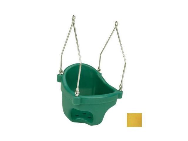 Jensen Swing Products - Commercial Rotational Molded Full Bucket Seat - Yellow